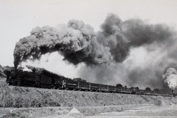 74年頃田川線の油須原―勾金間の名所