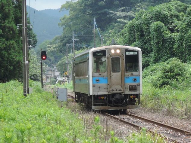 14年8月原田(はるだ)線の筑前内野駅付近