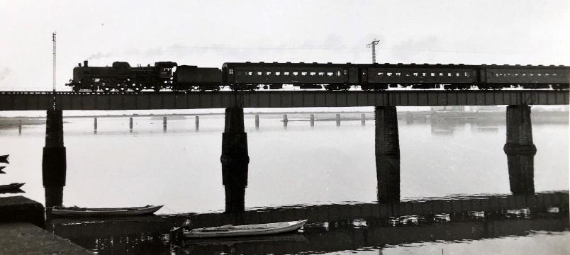 73年頃大淀川鉄橋