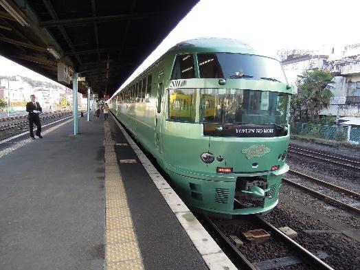 12年12月日田駅のゆふいんの森号