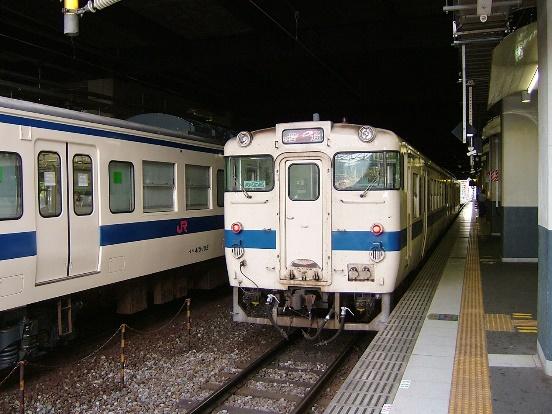 05年の小倉駅のキハ気動車