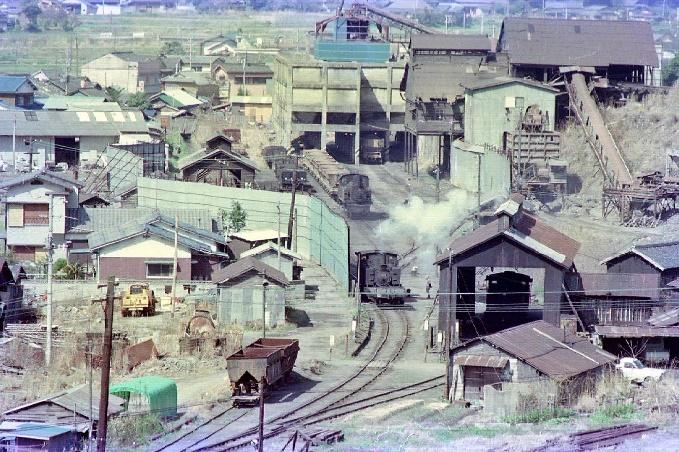 1976年4月貝島炭鉱遠景
